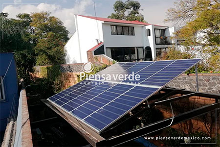 Paneles solares translucidos piensa verde