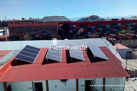 paneles solares almacen