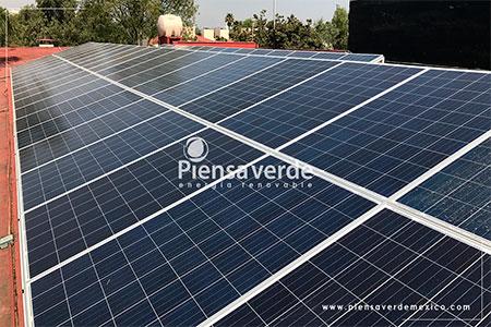 Paneles solares oficinas