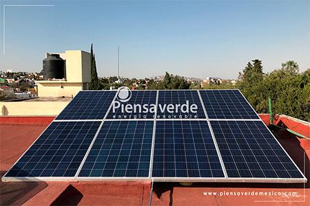 Piensa Verde Paneles Solares