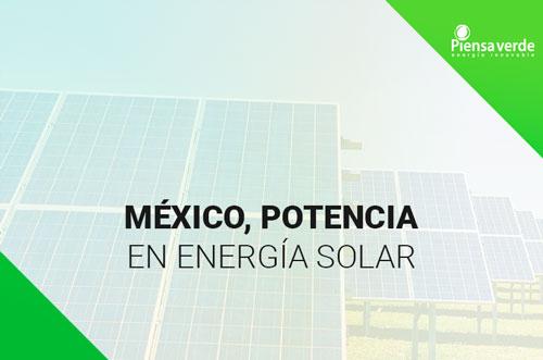 paneles solares méxico potencia energia solar