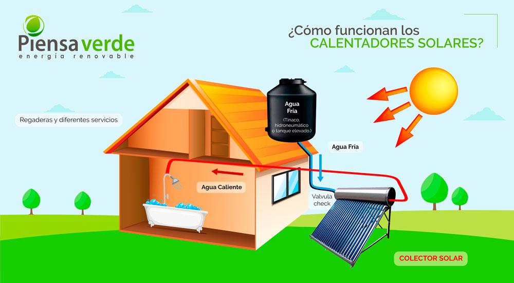 Calentador Solar Piensa Verde
